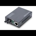 Digitus Fast Ethernet Media Converter, RJ45 / ST