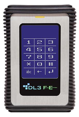 DataLocker DL3 FE 2TB external hard drive 2000 GB Black,Stainless steel
