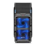 Sharkoon VG5-W Midi ATX Tower Black
