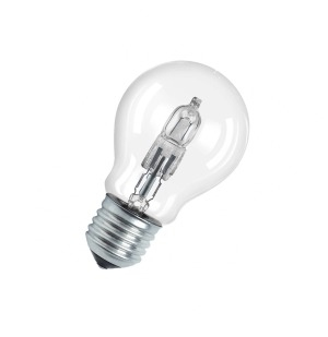 Osram CLASSIC SUPERSTAR A 46W E27 D Warm white halogen bulb