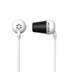 Koss PLUG W headphone Intraaural In-ear White
