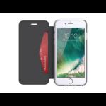 """Griffin Reveal Wallet mobile phone case 11.9 cm (4.7"""") Folio Black,Transparent"""