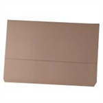 White Box WB DOCUMENT WALLET FOOLSCAP BUFF 220GSM