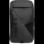 "HP OMEN Transceptor notebook case 15.6"" Backpack Black"