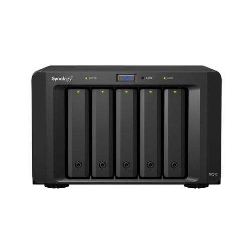 Synology DX513 30000GB Desktop Black disk array