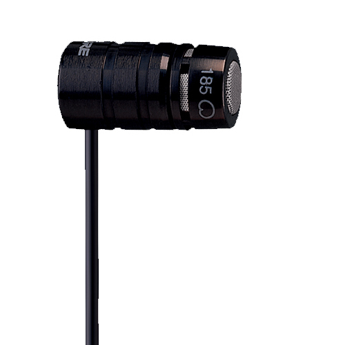 Shure WL185 microphone Studio microphone Black