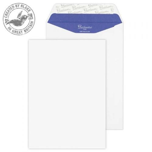 Blake Premium Pure Pocket Peel and Seal Super White Wove C5 229x162mm 120gsm (Pack 500)