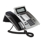 AGFEO ST 42 Analog telephone Caller ID Silver