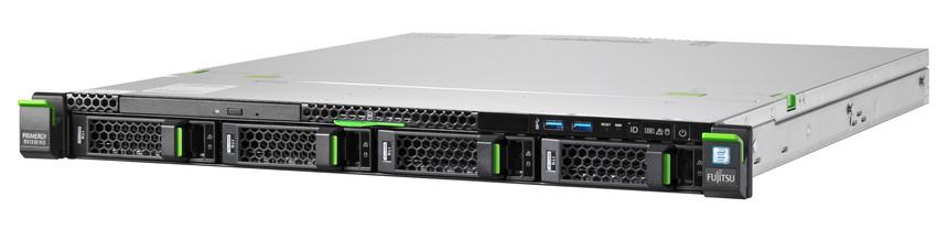 Fujitsu PRIMERGY RX1330 M3 3.5GHz Rack (1U) E3-1230V6 Intel® Xeon® E3 v6 450W server