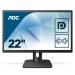 "AOC Essential-line 22E1Q computer monitor 54.6 cm (21.5"") 1920 x 1080 pixels Full HD LED Flat Matt Black"