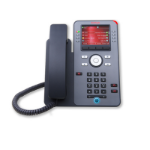 Avaya J179 IP phone Black Wired handset
