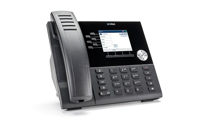 Mitel MiVoice 6920 IP phone Black LCD