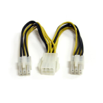 StarTech.com 6in PCI Express Power Splitter Cable PCIEXSPLIT6