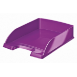 Leitz 52263062 Polystyrene Purple desk tray