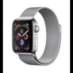 Apple Watch Series 4 reloj inteligente Acero inoxidable OLED Móvil GPS (satélite)