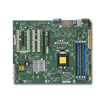 Supermicro X11SSA-F server-/werkstationmoederbord LGA 1151 (Socket H4) ATX Intel® C236
