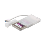 "i-tec MySafe USB 3.0 Easy 2.5"" External Case – White"