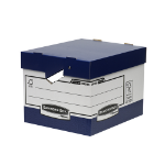 Fellowes 0038801 file storage box Paper Blue