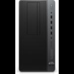 HP EliteDesk 705 G4 DDR4-SDRAM 2200G Micro Tower AMD Ryzen 3 PRO 16 GB 1000 GB HDD Windows 10 Pro Workstation Black, Silver