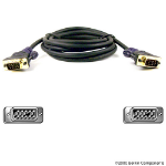 Belkin Gold Series VGA Monitor Signal Replacement Cable 7.5m 7.5m Black VGA cable