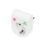 Digitus DN-95400 surge protector 1 AC outlet(s) 230 V White