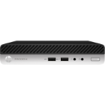 HP 400 ProDesk G5 DM, i7-9700T, 8GB, 256GB SSD, WLAN, W10P64, 1-1-1 (Replaces 4VG39PA)