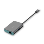 i-tec Metal USB-C HUB with Gigabit Ethernet Adapter