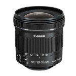 Canon EF-S 10-18 f/4.5-5.6 IS STM Ultra-wide lens Black