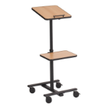 Metroplan Column 125 Portable device management cart Black
