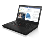 "Lenovo ThinkPad X260 2.6GHz i7-6600U 12.5"" 1366 x 768pixels Black Notebook"
