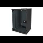 Digitus DN-10-09U-B rack cabinet 9U Wall mounted rack Black