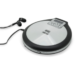 Soundmaster CD9220 CD player Personal CD player Black,Stainless steel