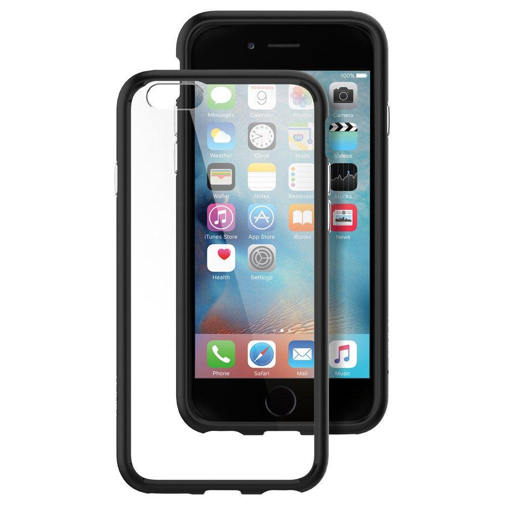"""Spigen SGP11600 mobiele telefoon behuizingen 11,9 cm (4.7"""") Hoes Zwart, Transparant"""
