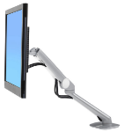 "Ergotron 45-436-231 24"" Metallic flat panel desk mount"