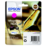 Epson C13T16334010 (16XL) Ink cartridge magenta, 450 pages, 7ml