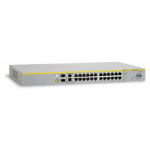 Allied Telesis AT-8000S/24PoE Managed network switch L2 Power over Ethernet (PoE) 1U Silver