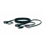 Linksys VGA PS/2 USB 3m 3m Grey KVM cable