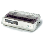 OKI ML3391eco 24-pin, 136 column dot matrix printer, Up to 390 characters per second, Up to 360 x 360dpi, 3 year warranty (upon registration)