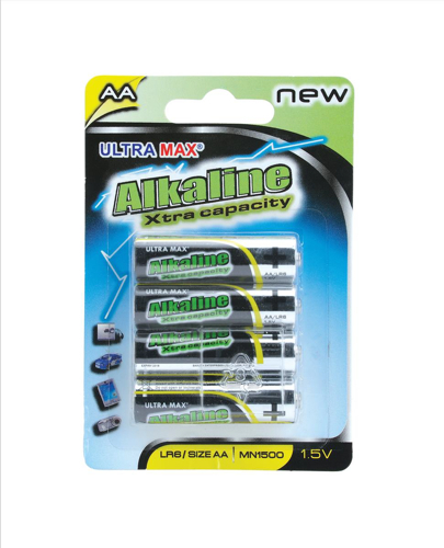 Whitebox White Box Alkaline Batteries AA [Pack 4]