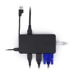 Targus Universal USB 3.0 Dual Video Docking Station - Black (DOCK110REU)