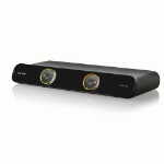 Belkin F1DH102Lea KVM switch Black