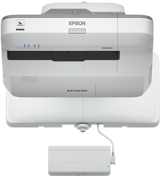 Epson EB-696Ui UST Interactive Projector & Wall Bracket Bundle