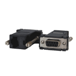 Opengear 319015 cable interface/gender adapter DB9F RJ45 Black