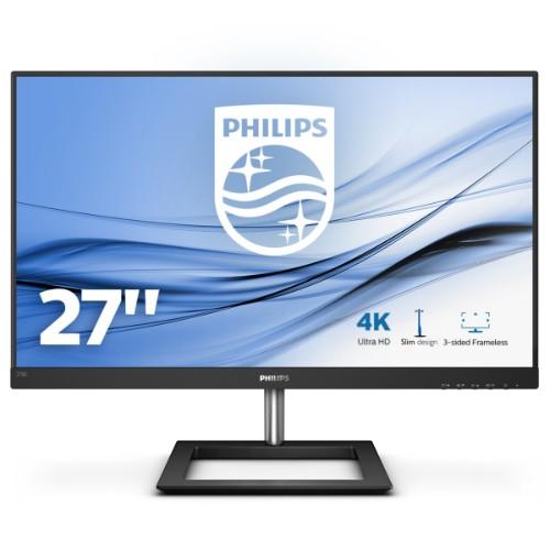 "Philips E Line 278E1A/00 computer monitor 68.6 cm (27"") 3840 x 2160 pixels 4K Ultra HD IPS Flat Black"