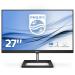 """Philips E Line 278E1A/00 computer monitor 68,6 cm (27"""") 3840 x 2160 Pixels 4K Ultra HD IPS Flat Zwart"""