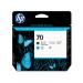 HP Cabezal de impresión DesignJet 70 cian/negro mate