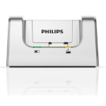 Philips ACC8120 mobile device dock station Silber