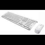 Perixx PERIDUO-703W RF Wireless French White keyboard