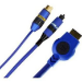 Extreme networks Summit X450 Stacking Cable, 0.5 m cable de red 0,5 m Azul