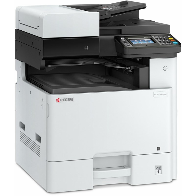 KYOCERA M8124CIDN 24ppm Colour A3 Multifunction Printer- Print, Scan, Copy